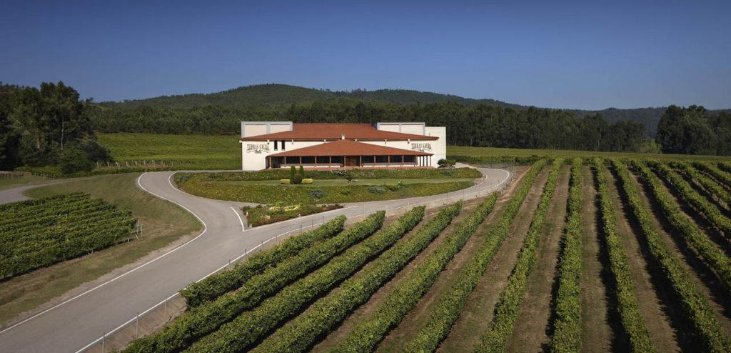Sede central del Grupo Terras Gauda en O Rosal (Pontevedra).