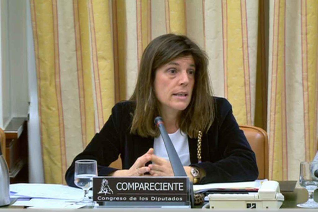 Comparecencia de Ángeles Moreno en el Congreso.