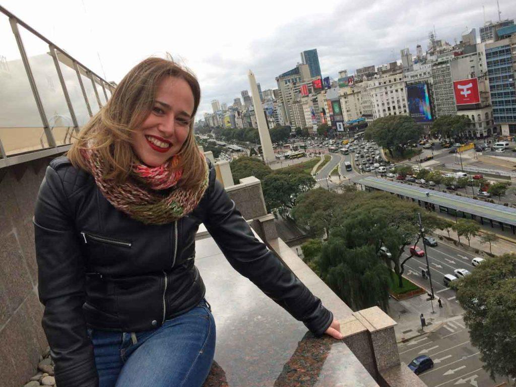 Itxaso Rodríguez reside en Buenos Aires desde hace un año.