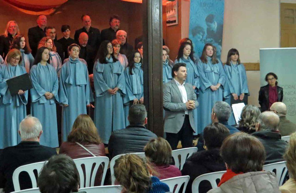 Antonio Rodríguez Miranda en el acto celebrado en Ribadeo.
