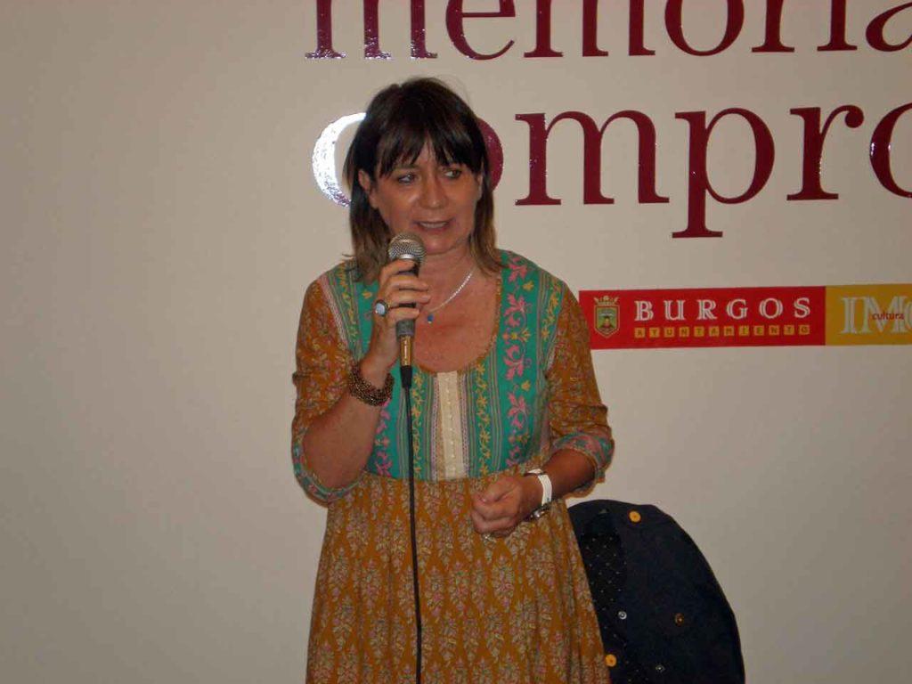 Julia Hernando, presidenta del Centro Burgalés de Buenos Aires.