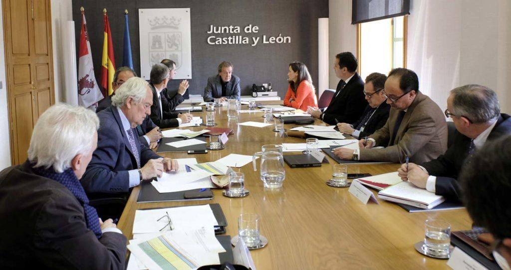 Imagen de la reunión de la Comisión General de Coordinación Territorial.