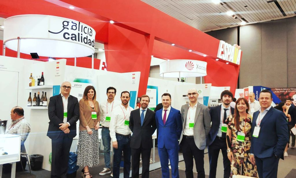 Imagen de la delegación gallega participante en la en la ciudad mexicana de Guadalajara en la Feria Expo Antad & Alimentaria.