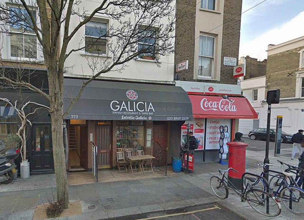 Imagen de archivo del bar Galicia.