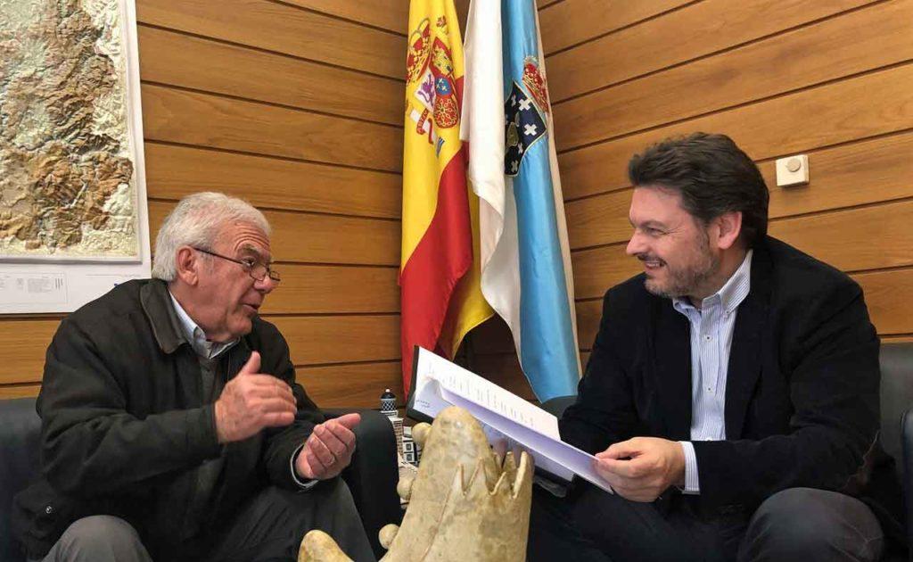Javier Salas y Antonio Rodríguez Miranda.