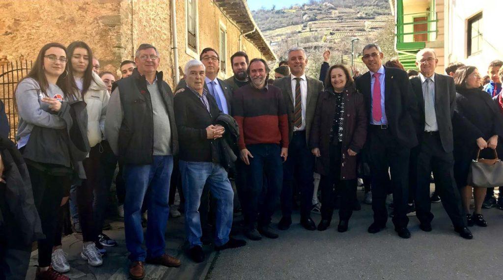 Imagen de la celebración del Dia da Lingua Galega no Bierzo.