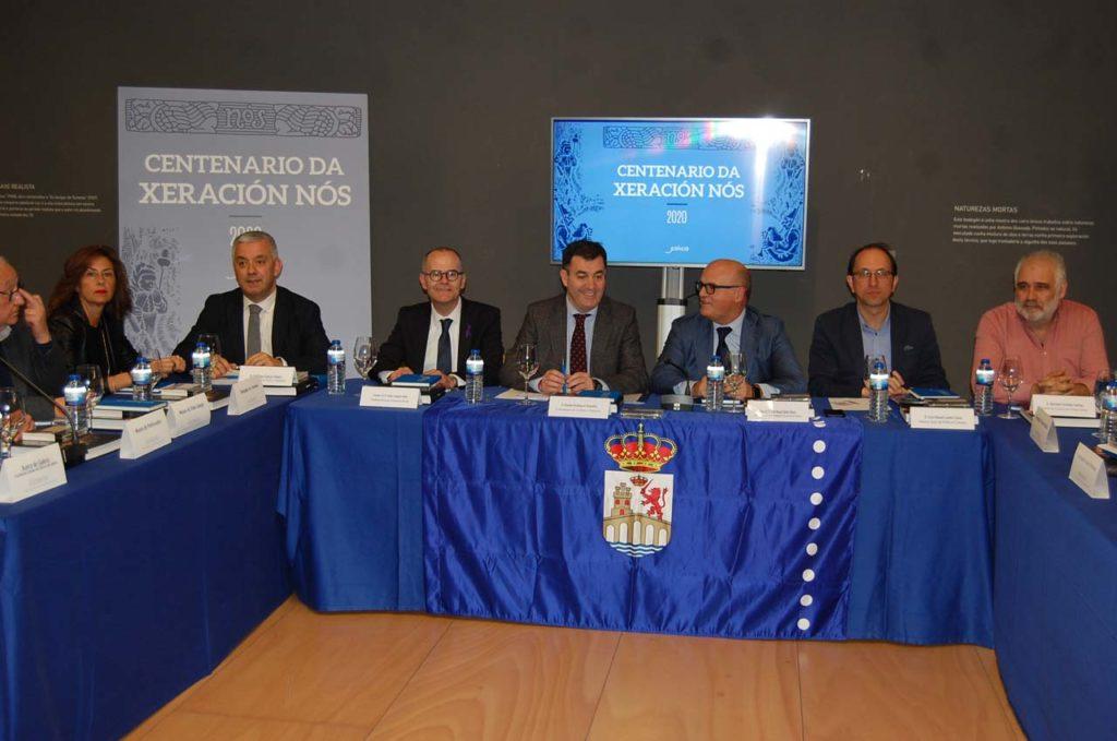 Román Rodríguez presidió la reunión plenaria que coordina el centenario de la Xeración Nós.