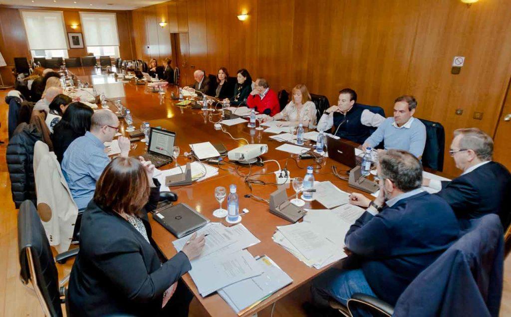Reunión de trabajo de la Comisión.