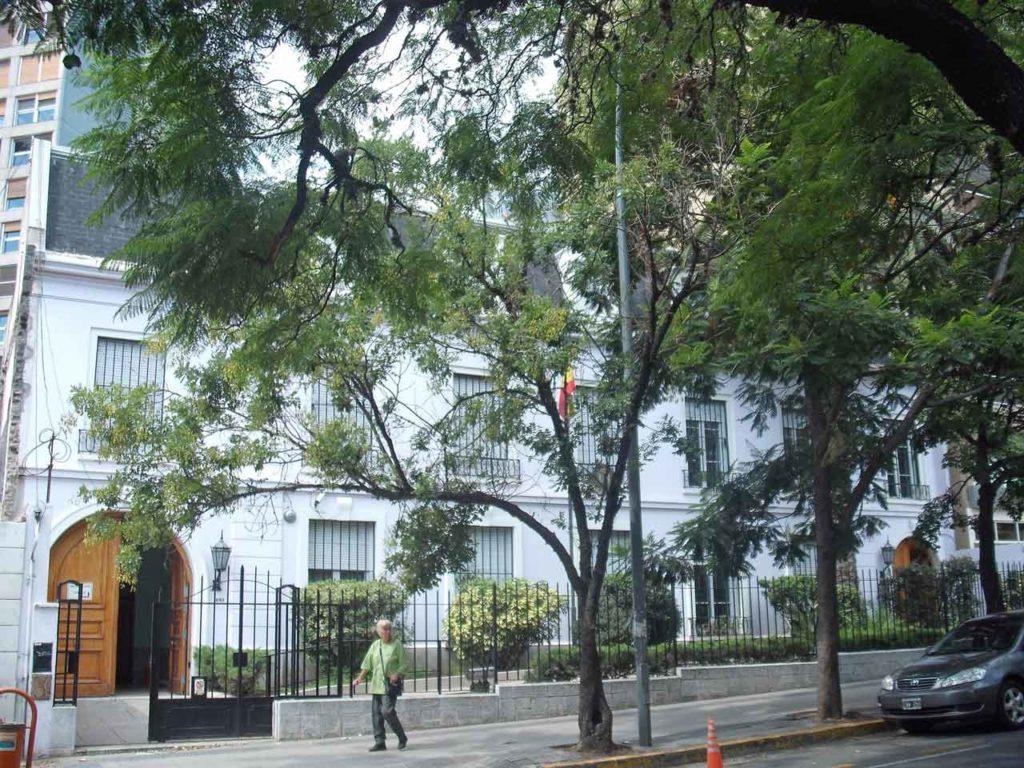 Vista del Consulado de España en Córdoba.