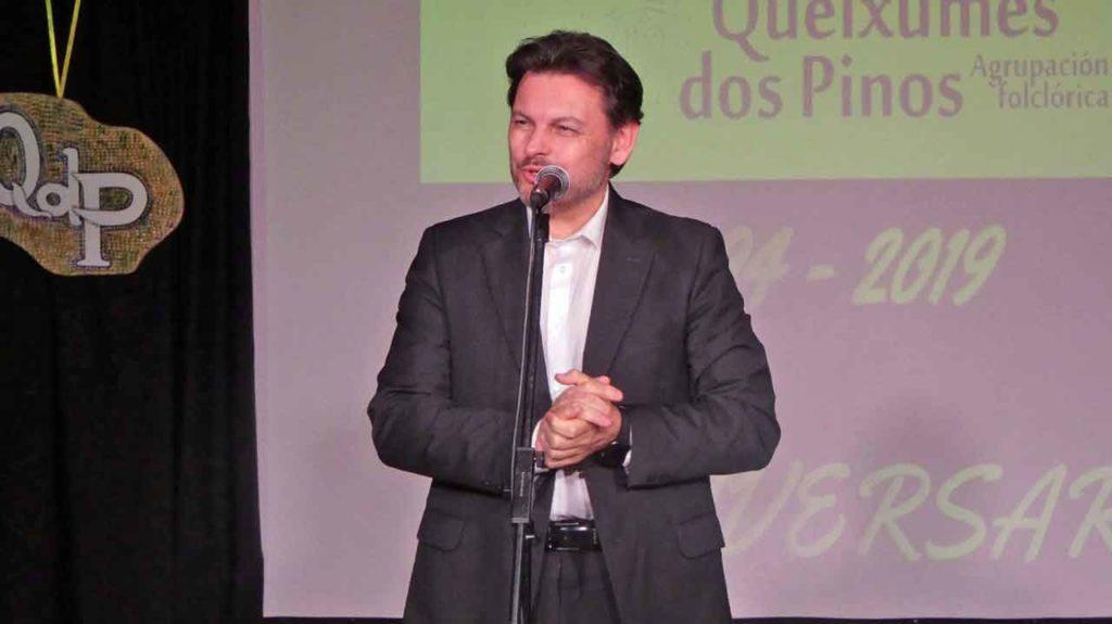 Intervención de Antonio Rodríguez Miranda.
