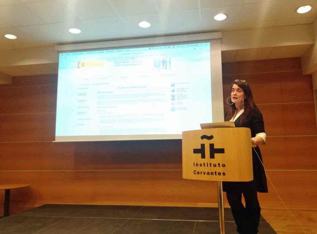 Eva Ortega-Paíno habó sobre las ayudas del Ministerio de Trabajo, Migraciones y Seguridad Social.