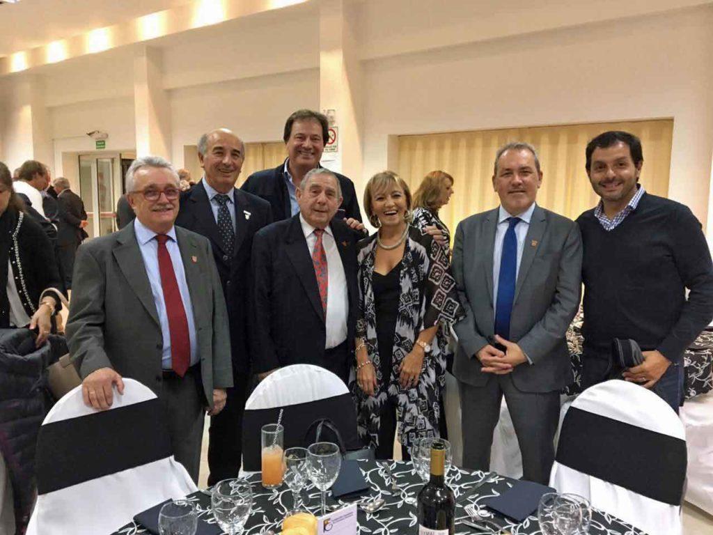 Cena en la Fundación Española de Comodoro Rivadavia.
