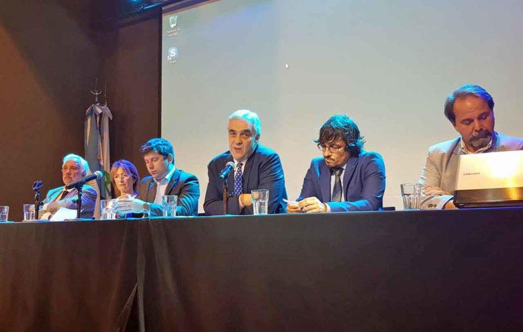 Intervención del embajador español, Javier Sandomingo, en la apertura del encuentro.