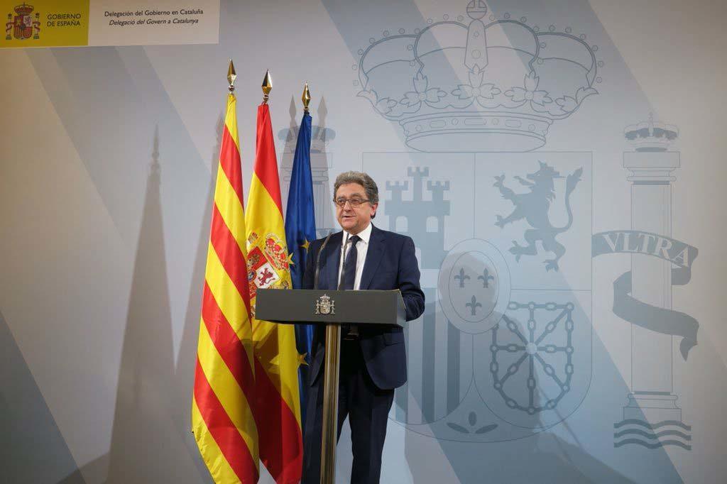 Enric Millo, en su época de delegado del Gobierno de España en Cataluña, cuando se hizo cargo del Ejecutivo autonómico por la aplicación del artículo 155 de la Constitución.