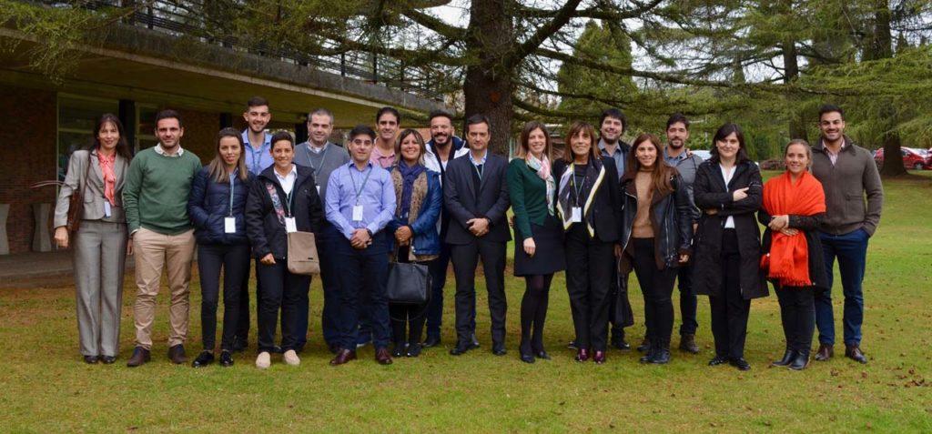 Hoteleros y directivos de los principales grupos empresariales de Argentina en el CSHG.