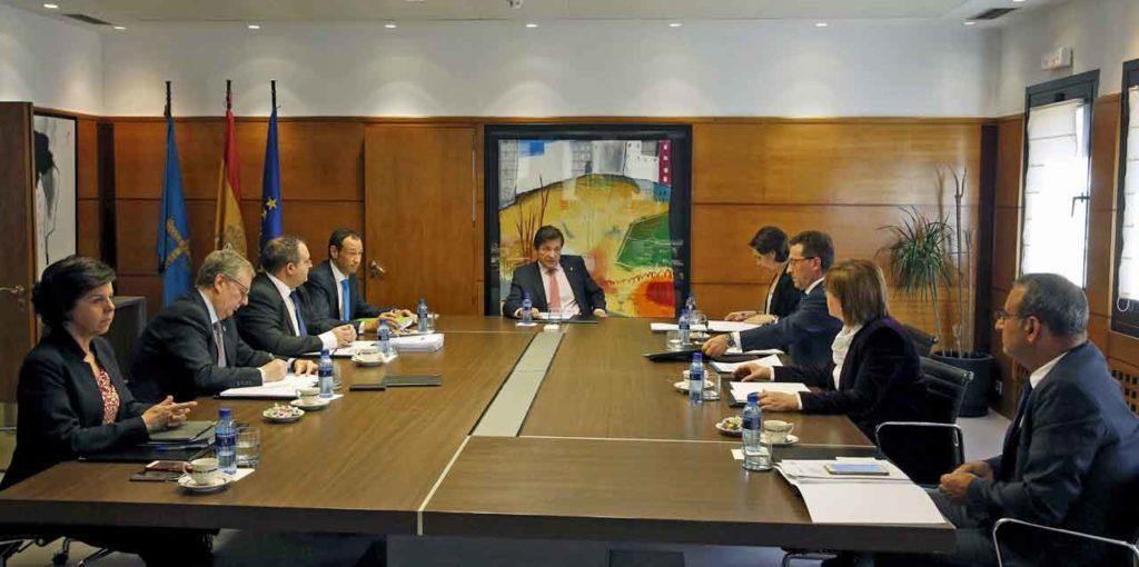 Reunión del Consejo de Gobierno del Principado de Asturias del miércoles 15 de mayo.