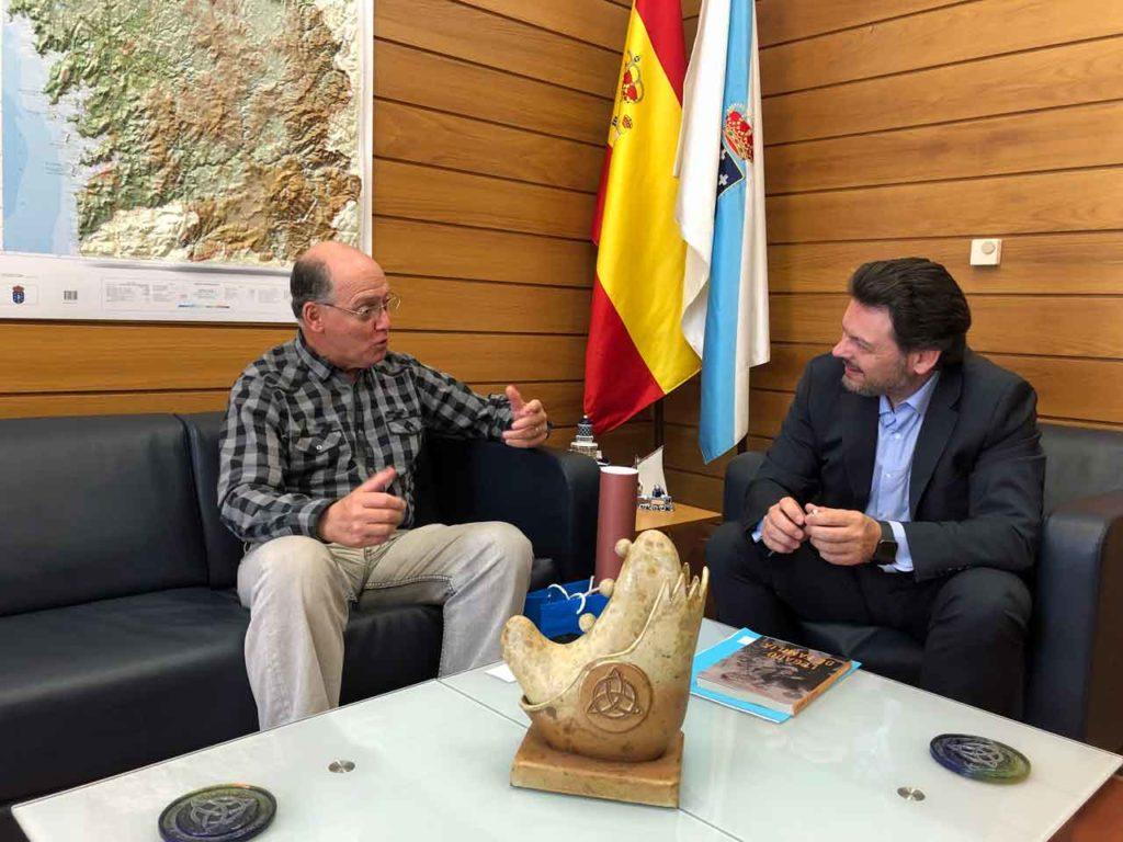 Fernando Moure y Antonio Rodríguez Miranda.