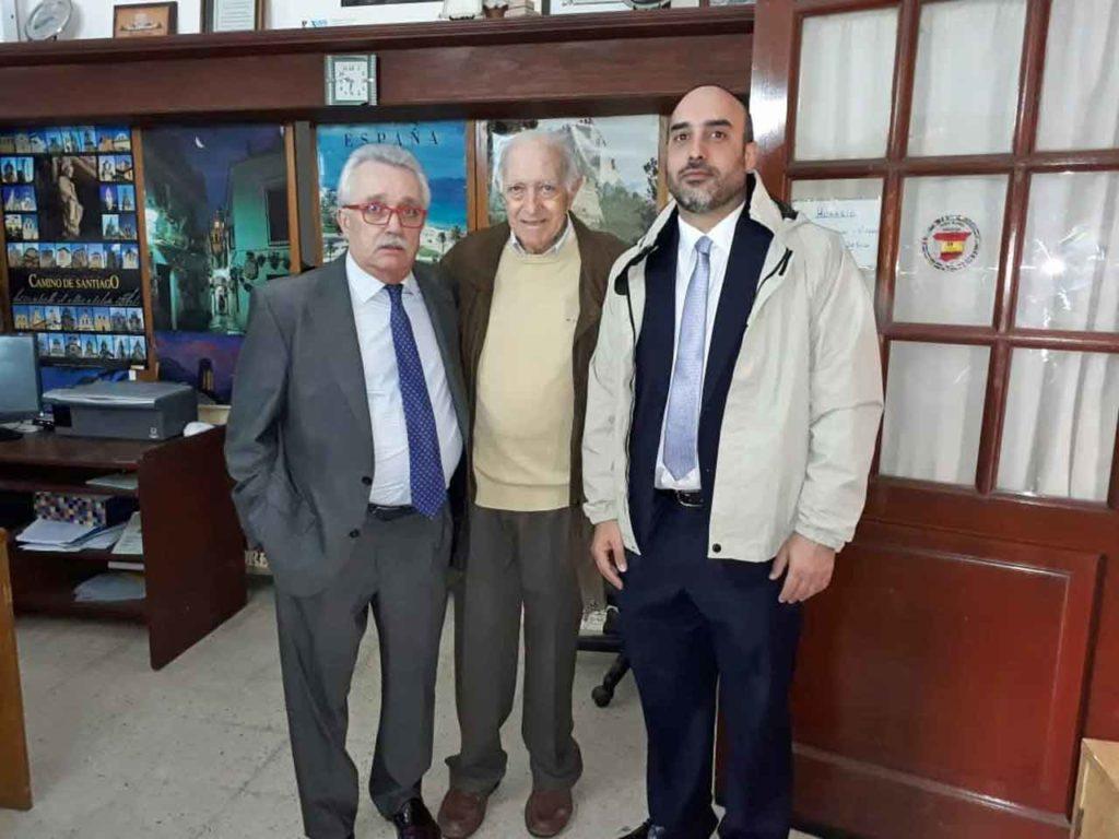 José Castro Navas, Rodolfo Asensio Gil y Diego Santiago Rivero.