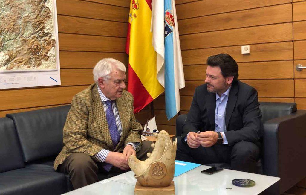 Elisardo Flores y Antonio Rodríguez Miranda.