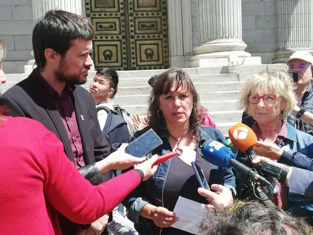 Declaraciones de Ana Miranda.