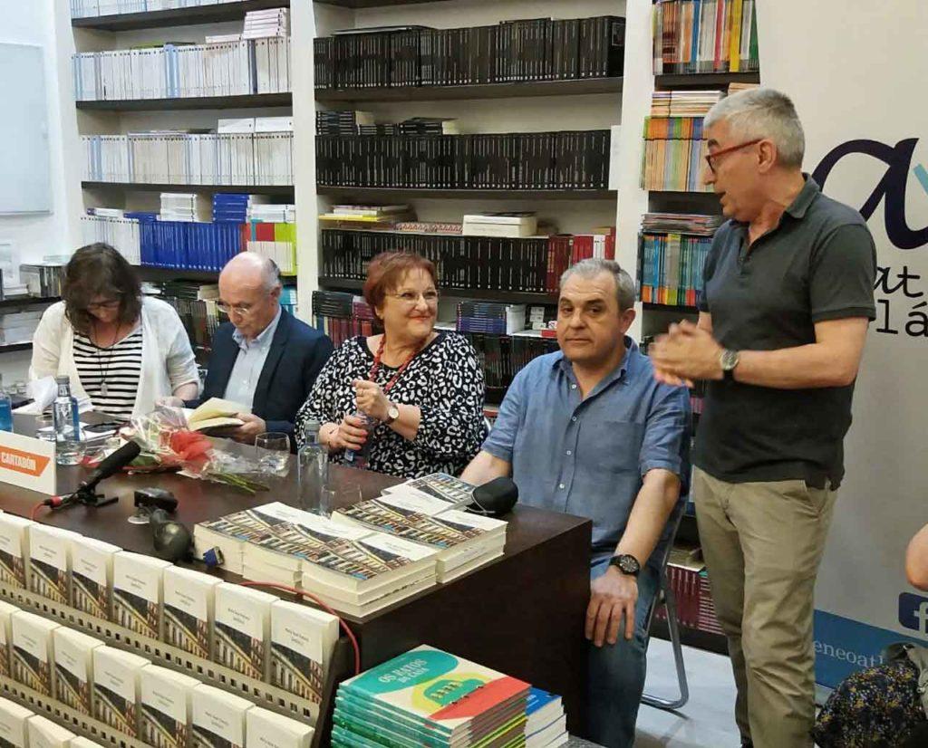 Llerena Perozo, Carlos Lema, María Xosé Porteiro, Ramón Nicolás y Carlos Bernárdez.