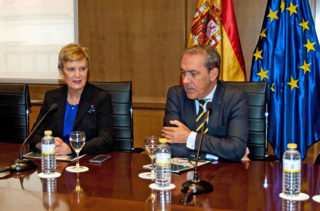Consuelo Rumí y Agustín Torres presentaron la estrategia del Plan de Retorno.