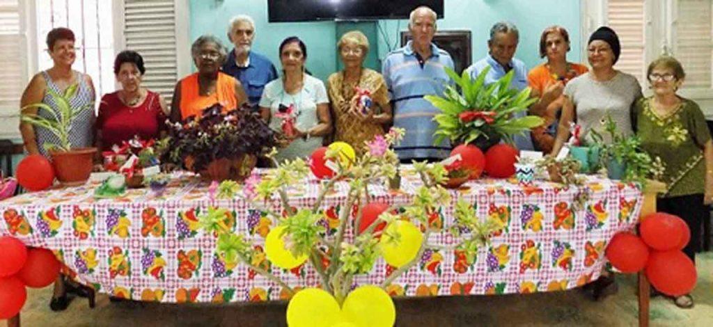 Participantes y ganadores del Concurso de Botánica.