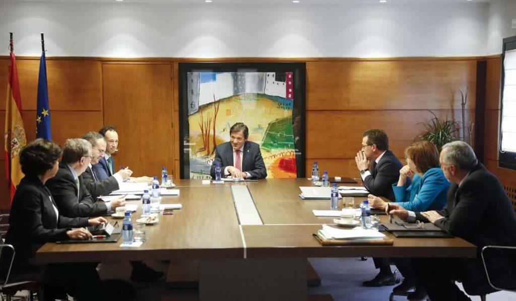 Reunión del Consejo de Gobierno del Principado de Asturias del viernes 21 de junio.