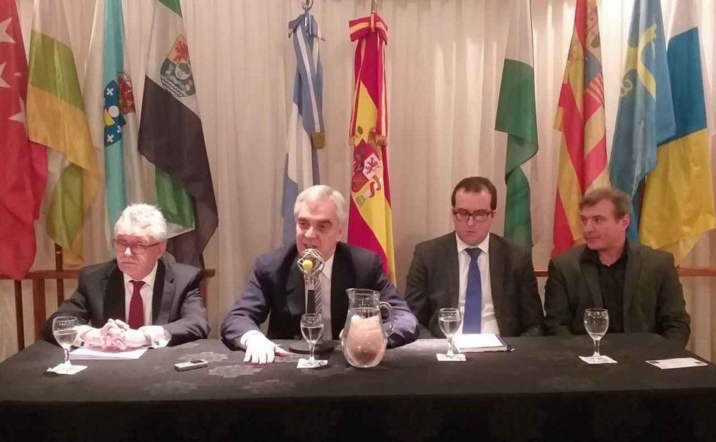 Castro Navas, Sandomingo, Hernández y Garabedián coincidieron en la importancia que este proyecto reviste para la colectividad.