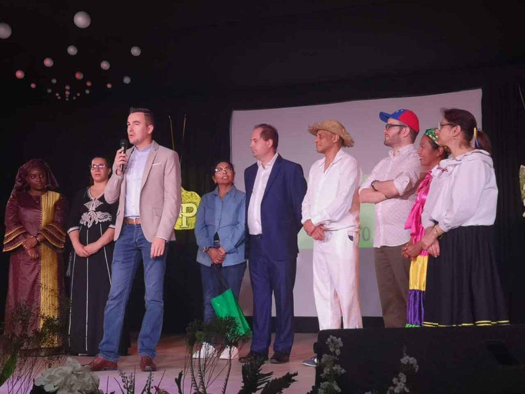 Intervención de Antonio Casas Calviño en las jornadas.