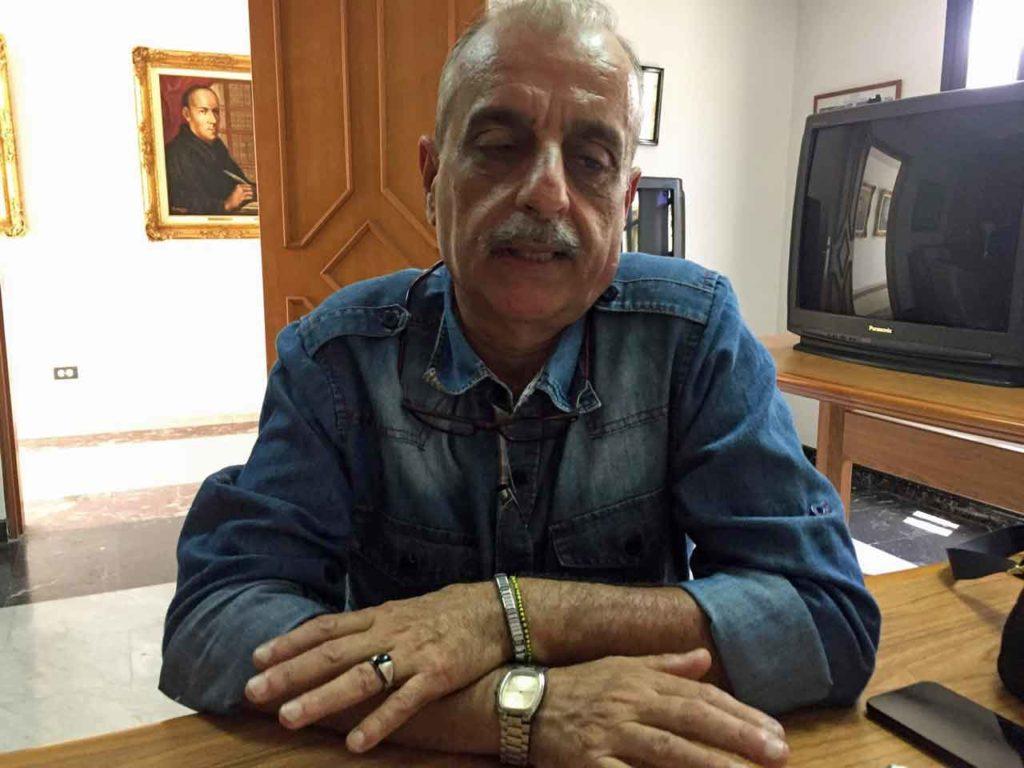 El presidente del CRE de Venezuela, Javier Rolo.