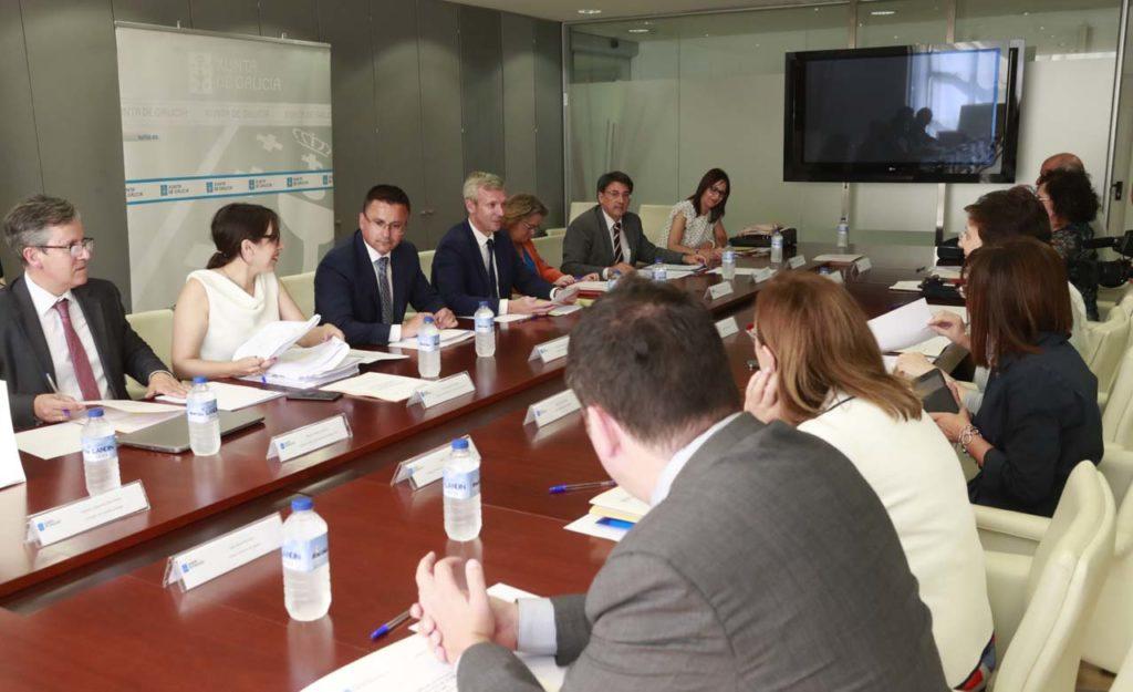El vicepresidente de la Xunta, Alfonso Rueda, presidió el pleno de este órgano consultivo, al que asistió el conselleiro do Medio Rural, José González.