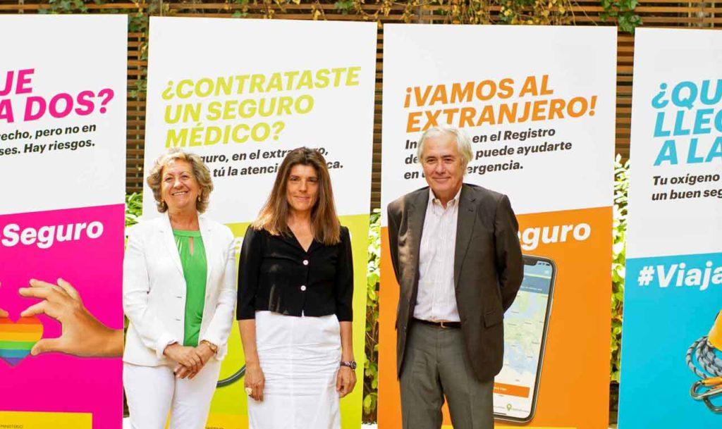 Pilar González de Frutos, Ángeles Moreno Bau y José Luis Rubayo.