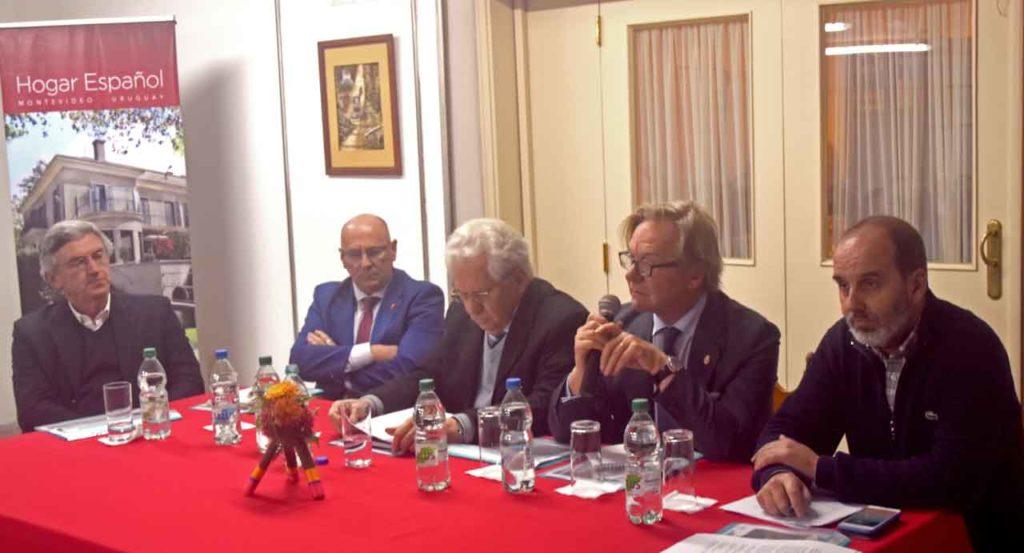 Celestino Duarte, Vicente Pecino, Ángel Domínguez, José Gómez Llera y José AntonioFernández.