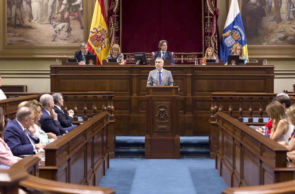 Ángel Víctor Torres expone su programa de gobierno para Canarias.