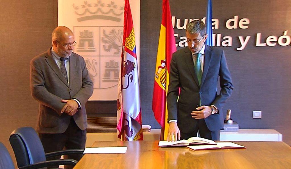 Toma de posesión de Fernando Navarro Fernández como viceconsejero de Transparencia y Calidad de los Servicios.