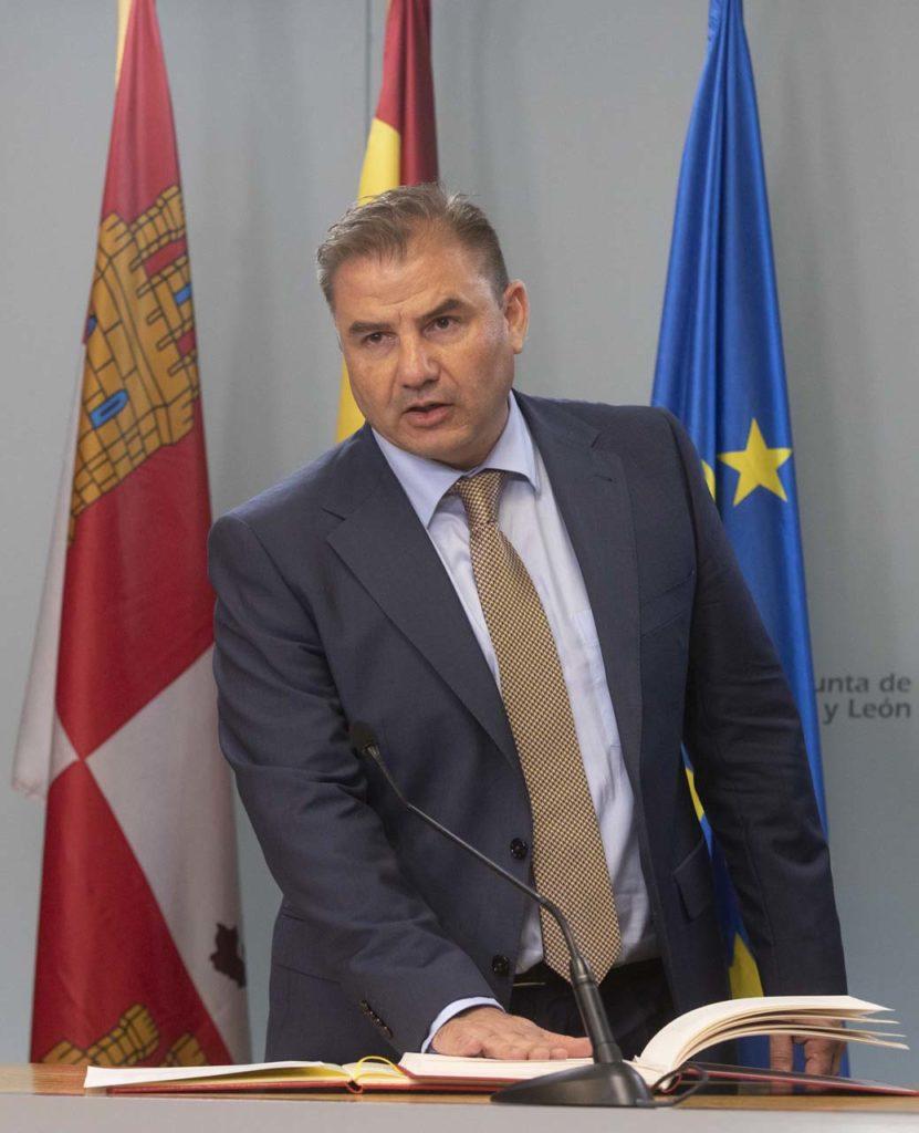 Carlos Aguilar, nuevo director general de Acción Exterior de la Junta de Castilla y León.