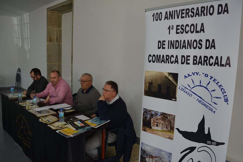 Acto oficial de presentación de las actividades del centenario del edificio escolar parroquial.