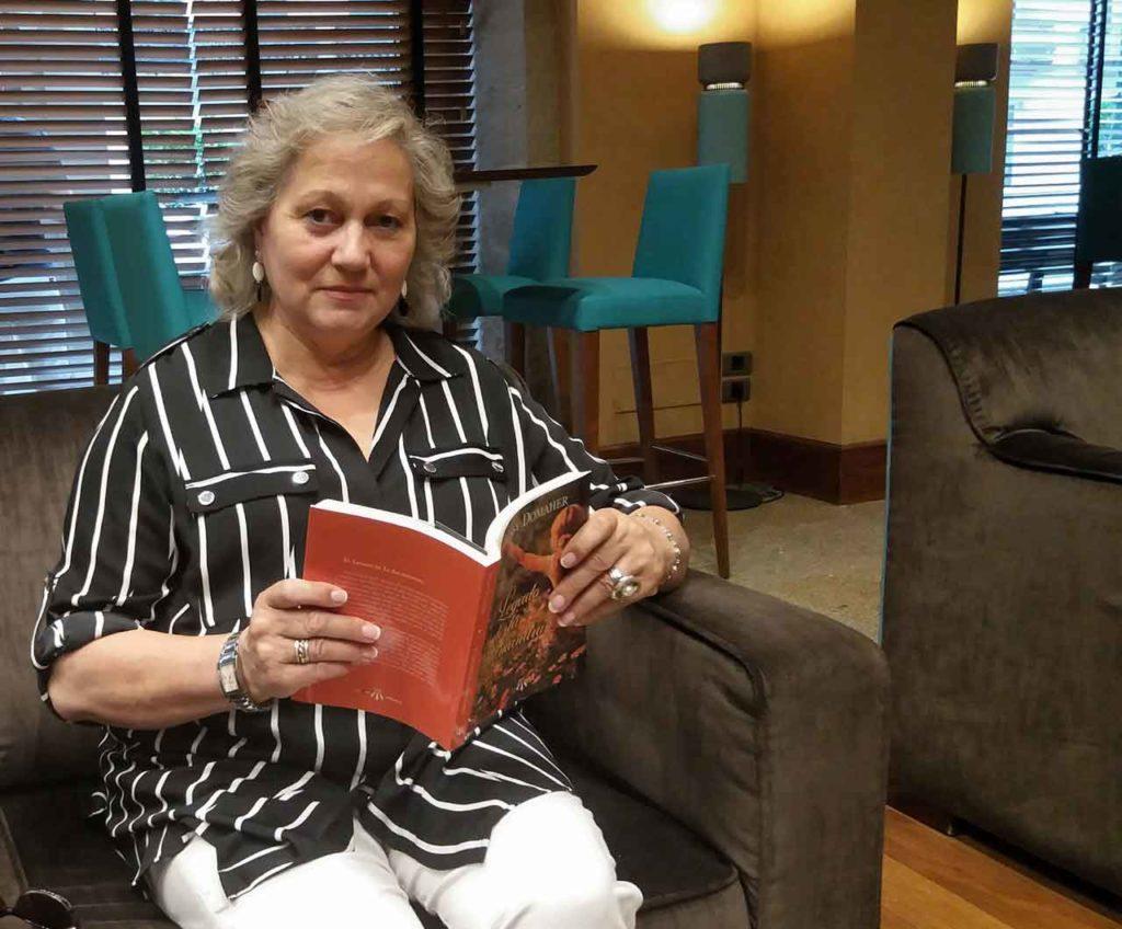 La escritora gallega residió durante 20 años en México en dos etapas diferentes de su vida.
