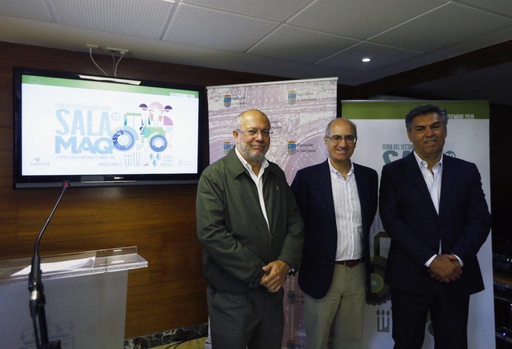 El vicepresidente de la Junta departió con el secretario de Estado portugués de Desarrollo Rural, Miguel Freitas.