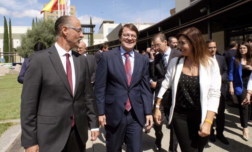El presidente de la Junta de Castilla y León, Alfonso Fernández Mañueco, asistió a la inauguración de la 85 Feria de Muestras de Valladolid.