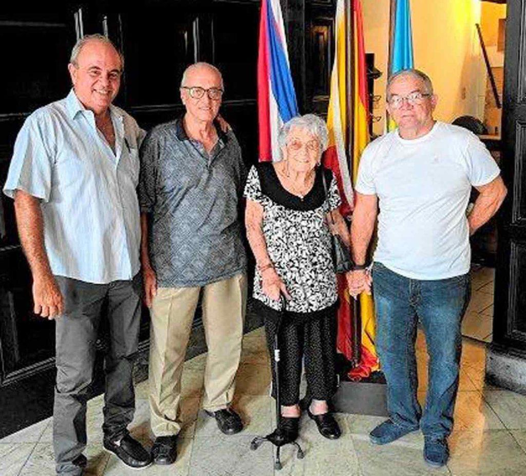 Jorge Luis Piñero Alonso, Julio Santamarina López, Mónica Fernández Martínez y Carlos Estévez Fernández.