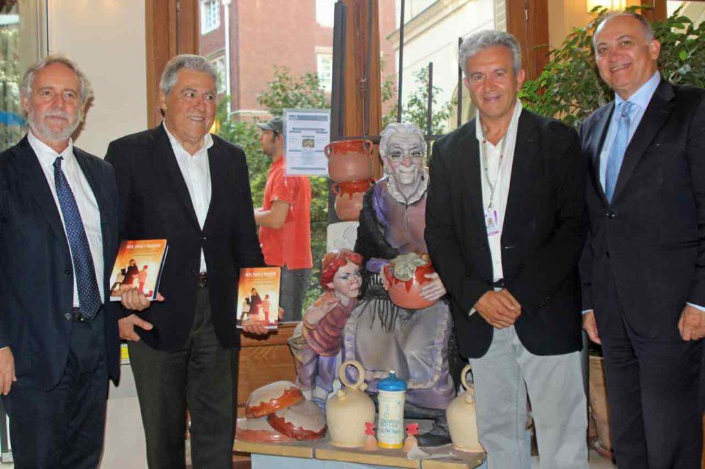 Emiliano García Domene, Justo Zambrana, Enrique Collado y Joan Calabuig.
