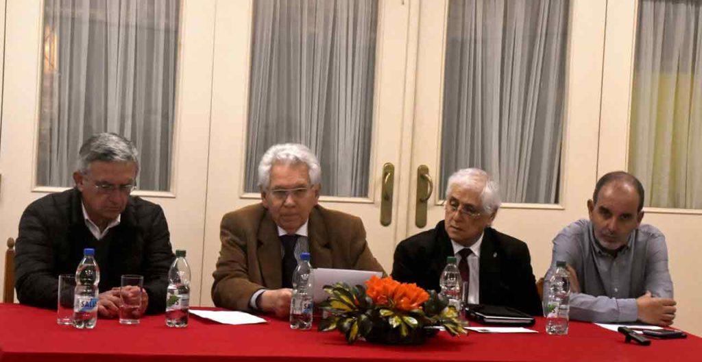 Celestino Duarte, Ángel Domínguez, Constantino Mato y José Fernández.
