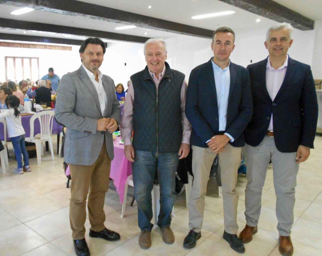 Miranda, Sánchez Crespo,  Casas Calviño y López Dobarro.