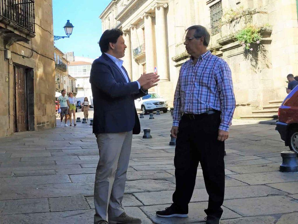 Antonio Rodríguez Miranda y  Manuel Ferradas.