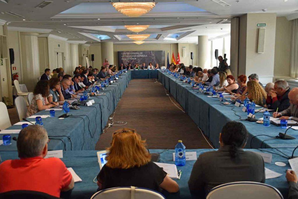 Imagen del II Pleno del VII Mandato del CGCEE celebrado en Madrid a finales de junio de 2018.
