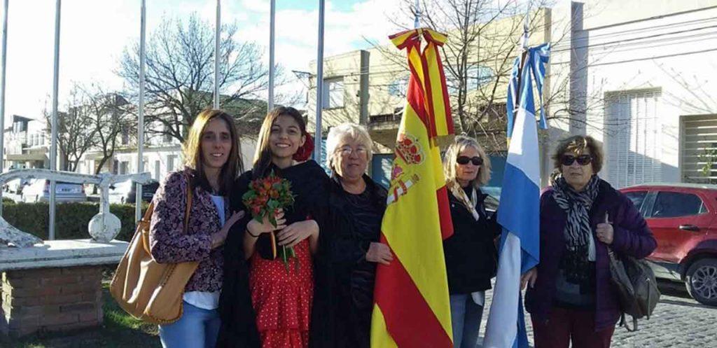 Representación española.