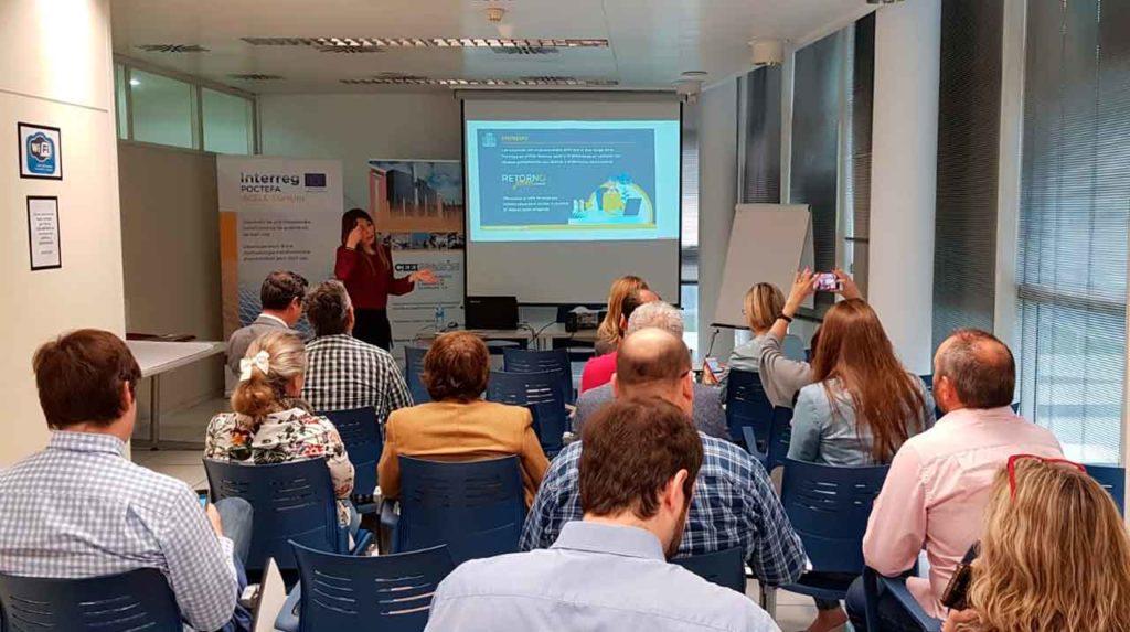 Presentación del Plan el 10 de mayo ante el Centro de Empresas e Innovación de Aragón (CEEI).