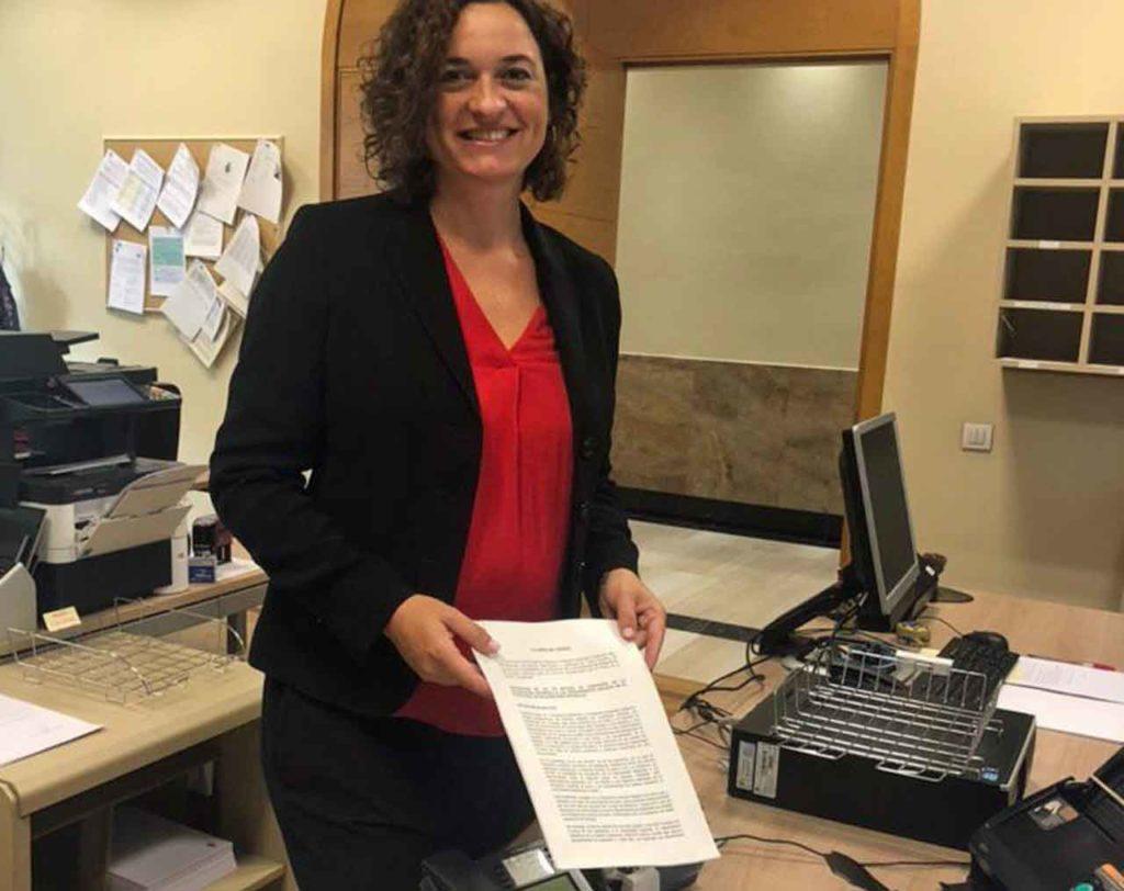 Sara Vilà, senadora de En Comú Podem e impulsora de la proposición de ley.